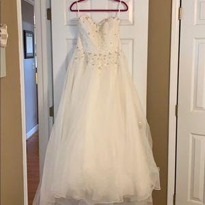 Mori Lee Wedding Dress Size 16
